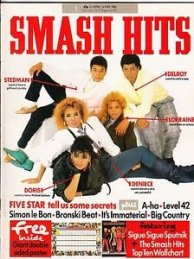 Smash Hits Five Star cover 230486